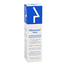 Minerasol spray 10 ml